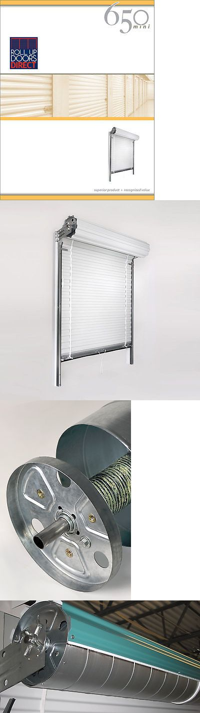 Details About Roll Up Door Janus Model 650 Sizes 3x7 To 10x10 Available Roll Up Doors Doors Mini Storage