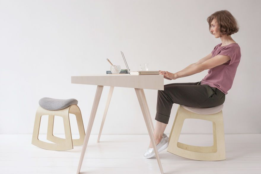 We Designed A Healthy Alternative To Regular Desk Chairs Ergonomic Chair Chair Desk Chair