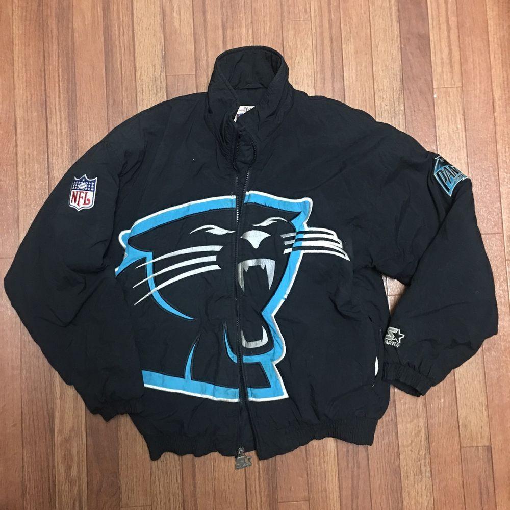 best service 233f8 76610 Vintage Carolina Panthers Starter Puffer Jacket NFL Rare ...