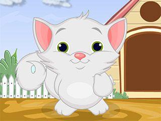 لعبة القطة كيتي لعبة حلوة من العاب اطفال  Kids Games الرائعة جداً علي العاب فلاش ميزو