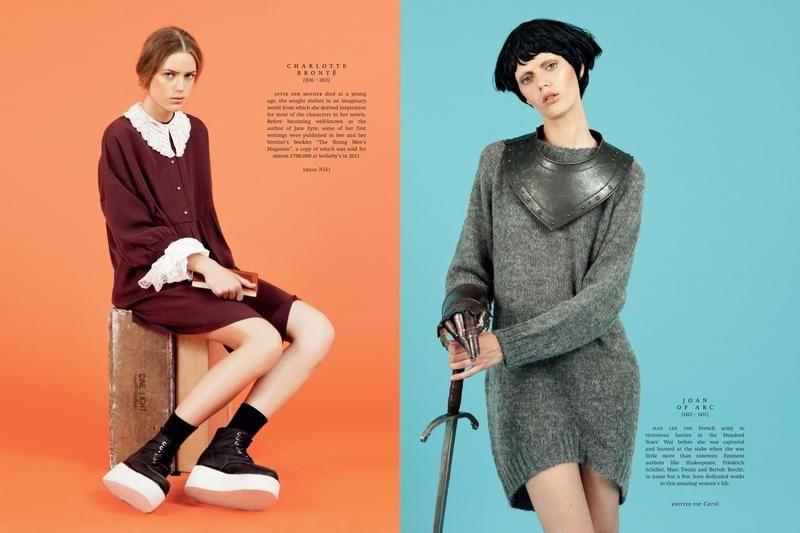Esther Heesch for Monki Magazine #8 (Various Editorials)