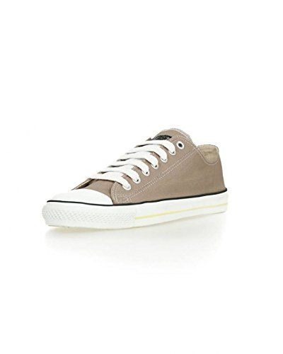 Ethletic Sneaker vegan LoCut - Farbe moon rock grey / white aus Bio- Baumwolle -