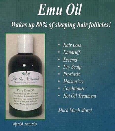 Pure Emu Oil | Emu oil, Oil for hair loss, Natural moisturizer
