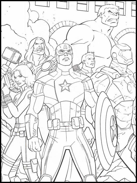 Dibujos Faciles Para Dibujar Vengadores Endgame 16 Dibujos