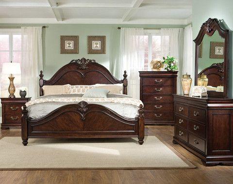 Wholesale Furniture Co - Westchester 5pc Queen Bedroom Set   Stuff ...