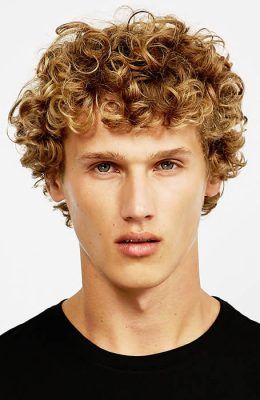 Medium Length Haircuts For Men Curly Hair 21