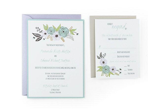 Algodon - Free Wedding Invitation Template Wedding Planning - free template invitation