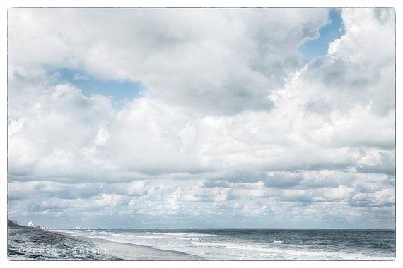Fine Art Photography Florida Beach Clouds Ocean By Photosintent