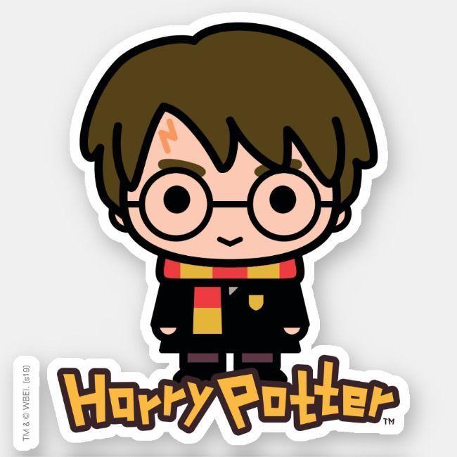 Harry Potter Cartoon Character Art Sticker Zazzle Com Characterart Harry Potter Pegatinas De Harry Potter Dibujos Animados De Harry Potter Pegatinas Bonitas