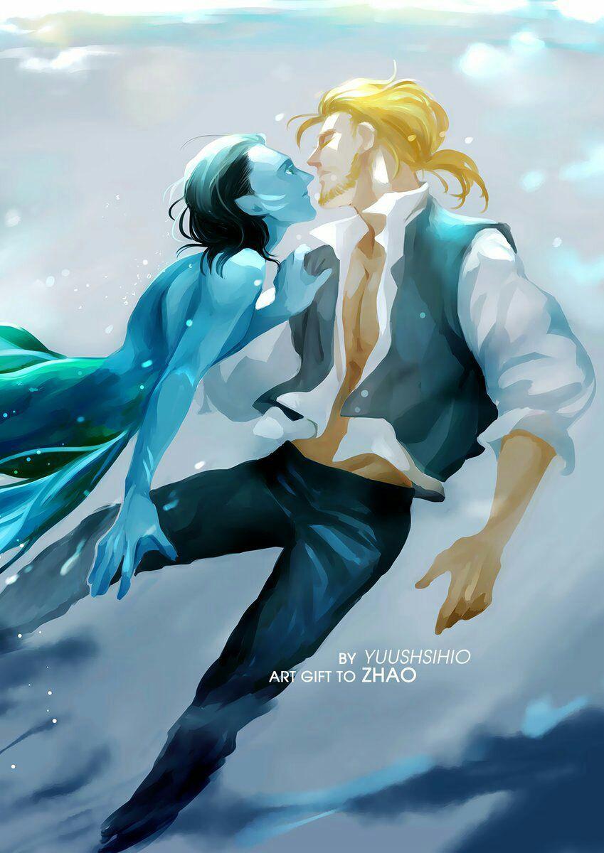 Merman Loki X Tony - Year of Clean Water