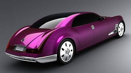 This Smooth Sleek Ultra Stylish And Luxuriousultra Violet Car Is Not Only Snazzy Its Fit For A Queen Well Princess Ok Women Rich