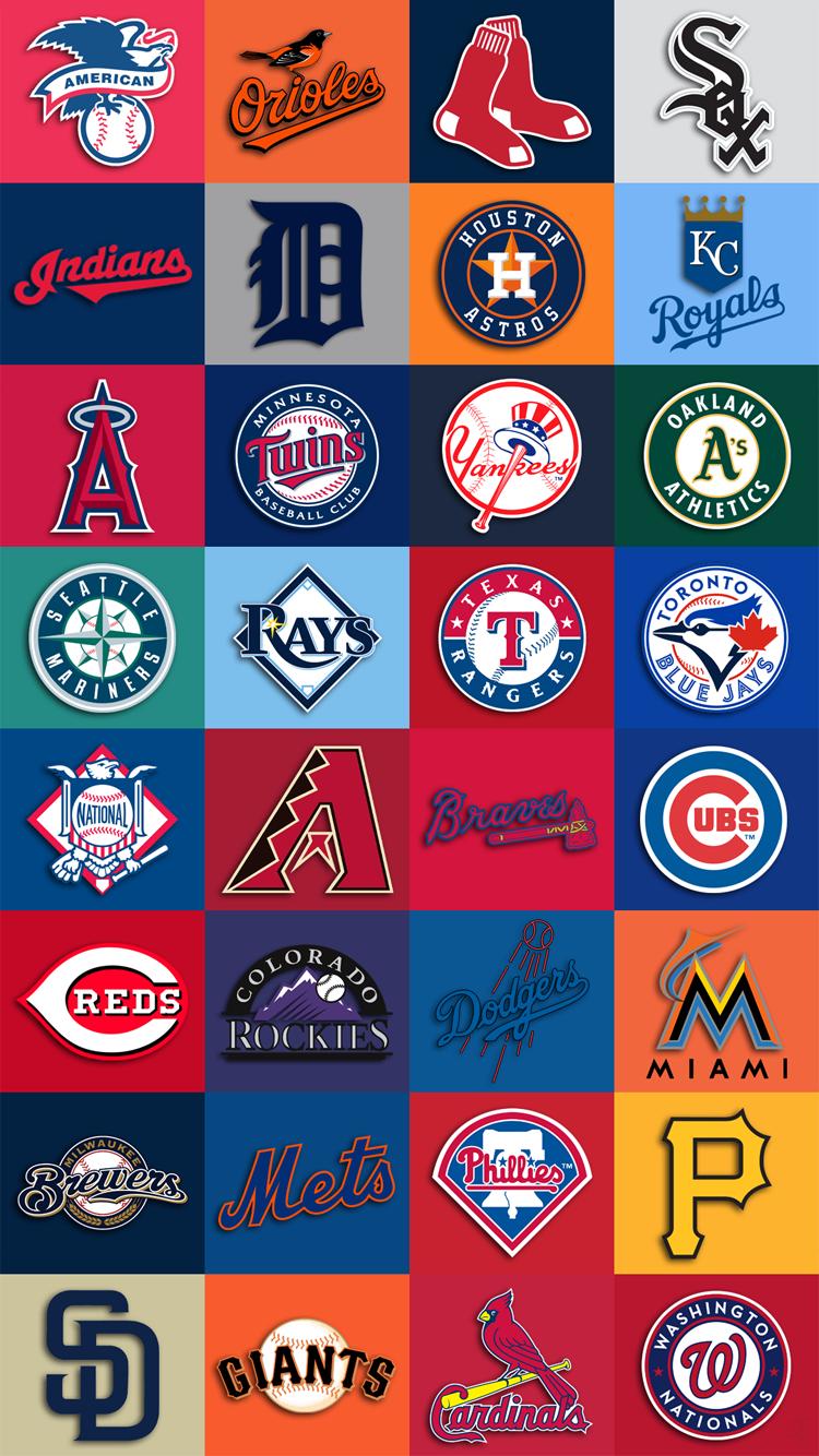 Cool All Nba Teams Wallpaper Wallpaper In 2020 Baseball Wallpaper Mlb Wallpaper Mlb Logos
