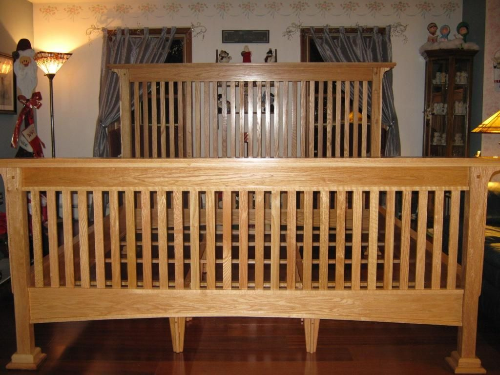 mission style bed frame plans woodworker matt berger shows you how to build a traditional mission