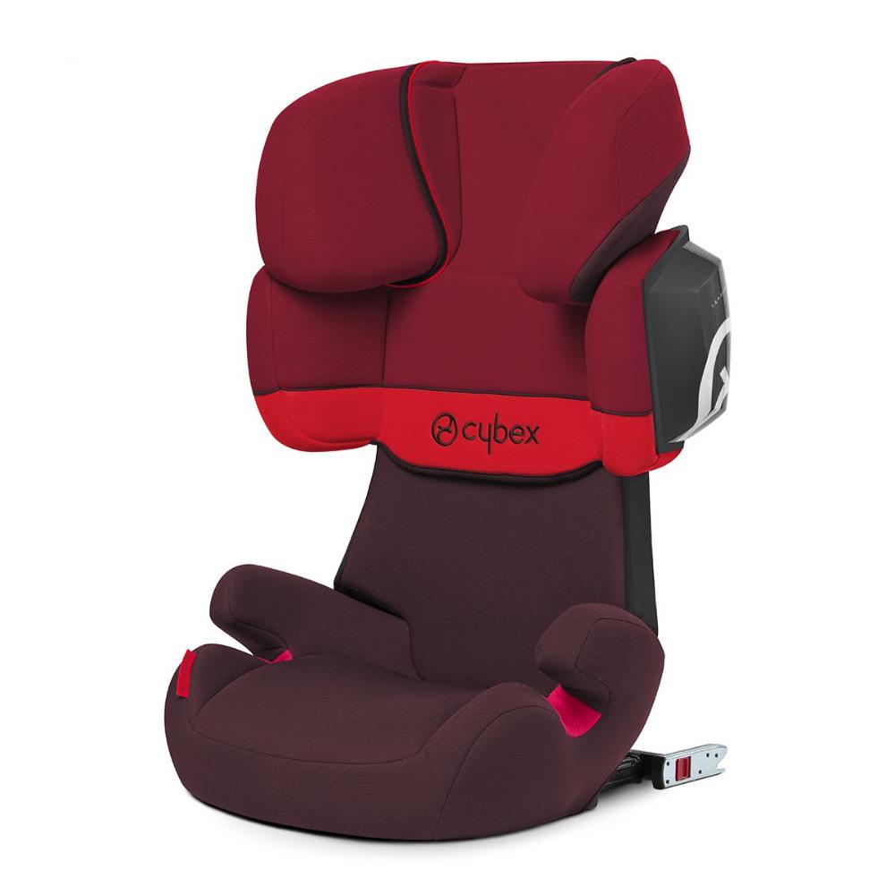Cybex Silla De Coche Grupo 2 3 Solution X2 Fix Para Coches Con Y Sin Isofix 15 36kg Desde Los 3 Hasta Los 12 Año Baby Car Seats Car Seats Toddler Car Seat