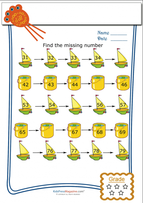 Find The Missing Numbers Worksheet 1 Kidspressmagazine Com Number Worksheets English Worksheets For Kids Missing Number Worksheets
