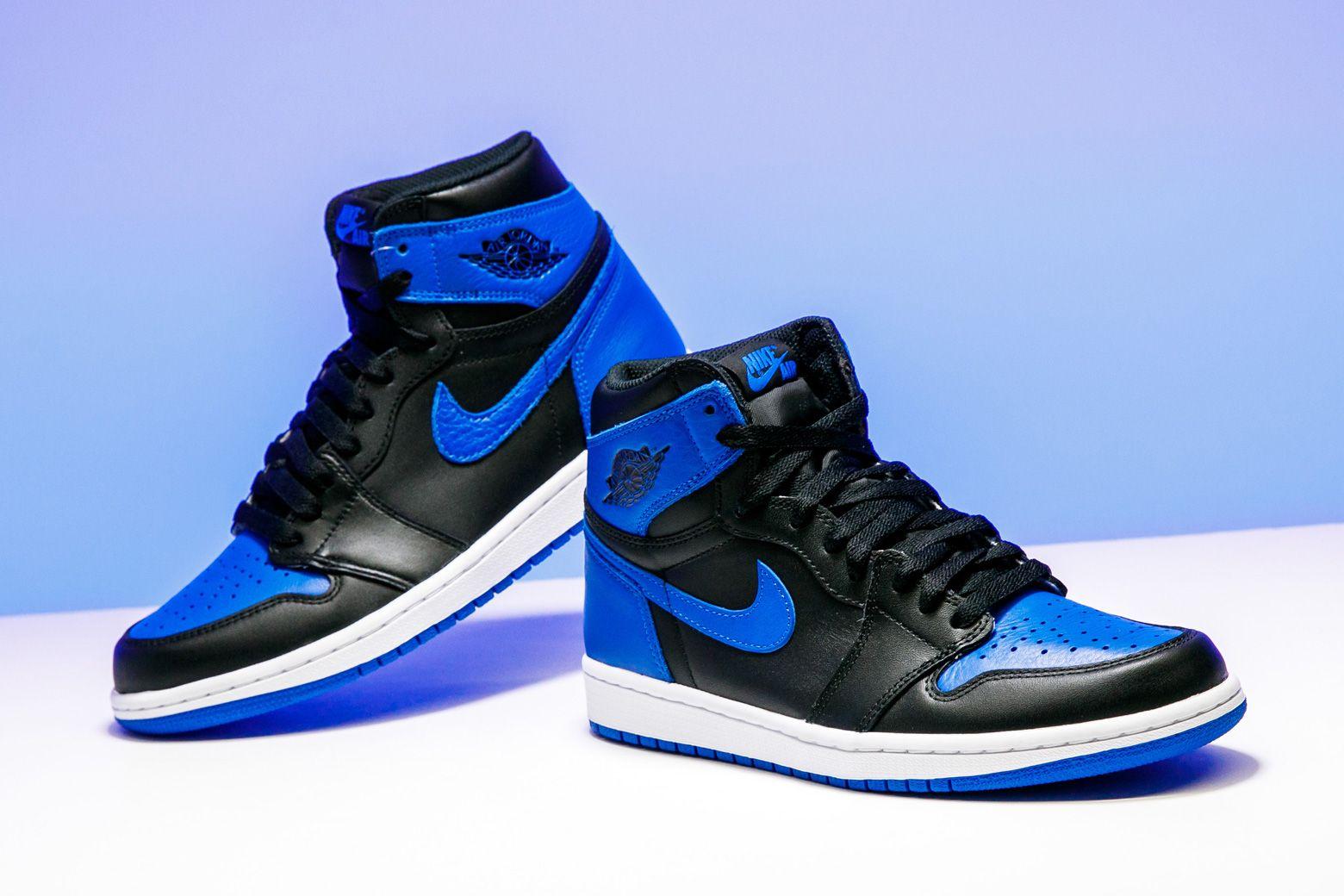 2017 Nike Air Jordan 1 Nike Retro High Og Royal Blue Air Jordan 1 Retro High Og 2017 Royal 555088 007 In 2020 Air Jordans Retro Air Jordans Jordan 1 Retro High