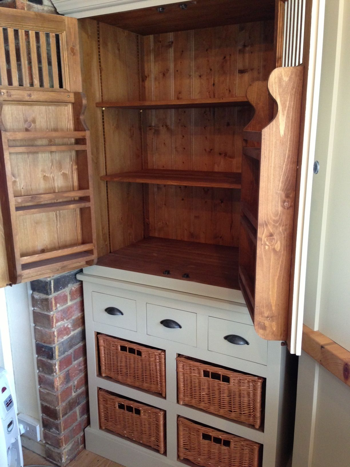 Marks And Spencer Kitchen Furniture Padstow 2 Door Larder Unit Putty Purpose Beautiful And Back To
