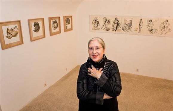 Pintura - Graça Morais na Gulbenkian de Paris no fim de maio