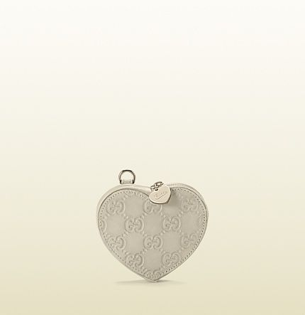 f5f24f645c40 heart-shaped coin purse 152615 AA61G 9022 $225 Gucci | Key Chains ...
