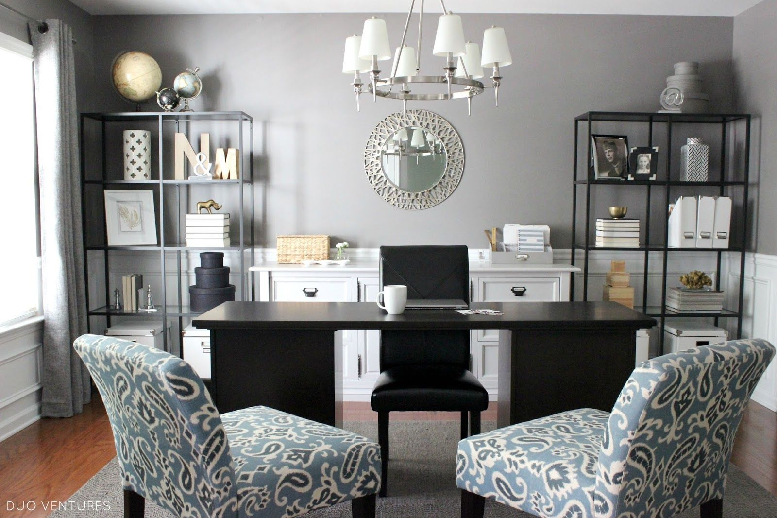 A Dining Room To Home Office Reveal Dining Room Office