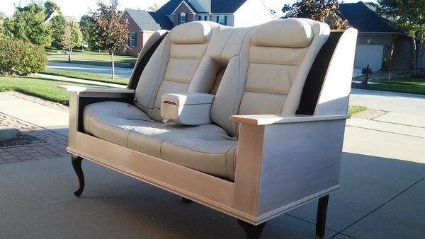 Gentil Unique Stylish Hand Made Car Seat Sofa Suite | AUTO | Pinterest | DIY  Furniture, Car Seats And Armchairs.