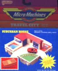 Micro Machines Travel City Suburban House Childhood Toys 1980s Childhood Micro Machines