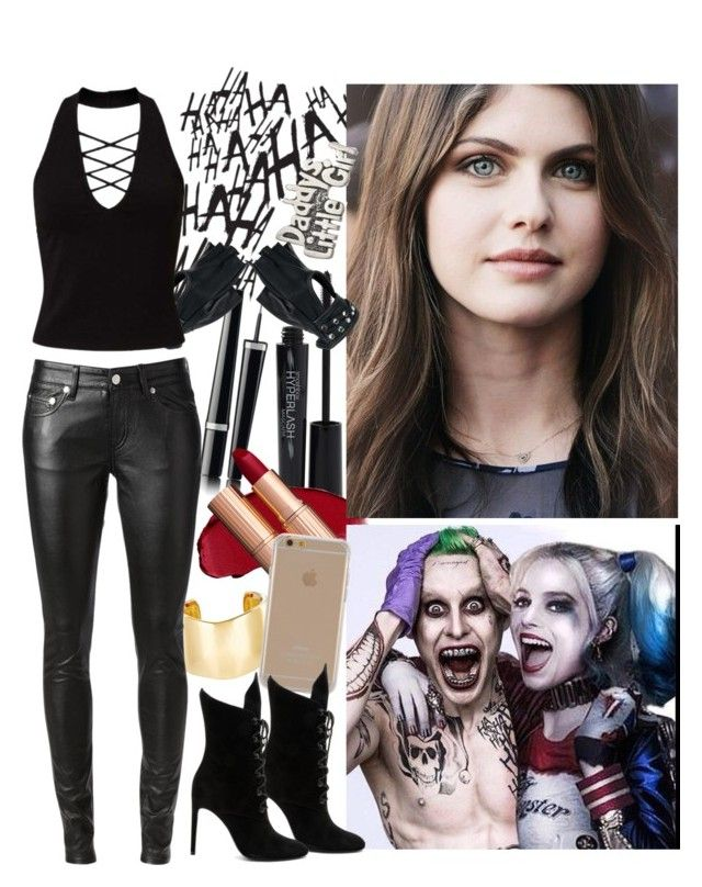 """""""Joker's Property"""" by hitshannahbananah ❤ liked on Polyvore featuring jared, Jennifer Fisher, Chanel, Yves Saint Laurent, Smashbox, Wilsons Leather, Miss Selfridge, Agent 18 and Kendall + Kylie"""