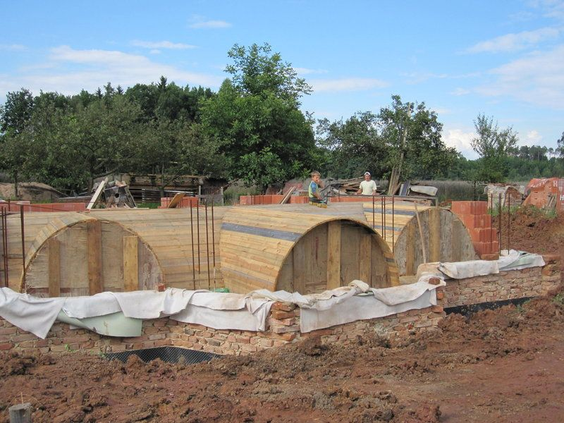 Building a cross-barrel vaulted ceiling | Roofs ...