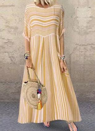 Compre Vestidos Venda Loja Online De Vestidos De Moda Feminina Floryday Vestidos De Verano Informal Vestido Largo Con Tenis Vestidos Largos De Moda