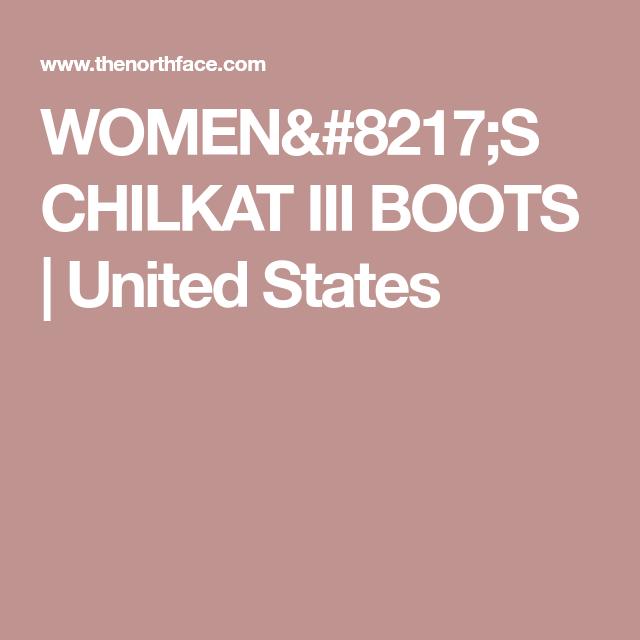 e587e6a76e Women s chilkat iii boots
