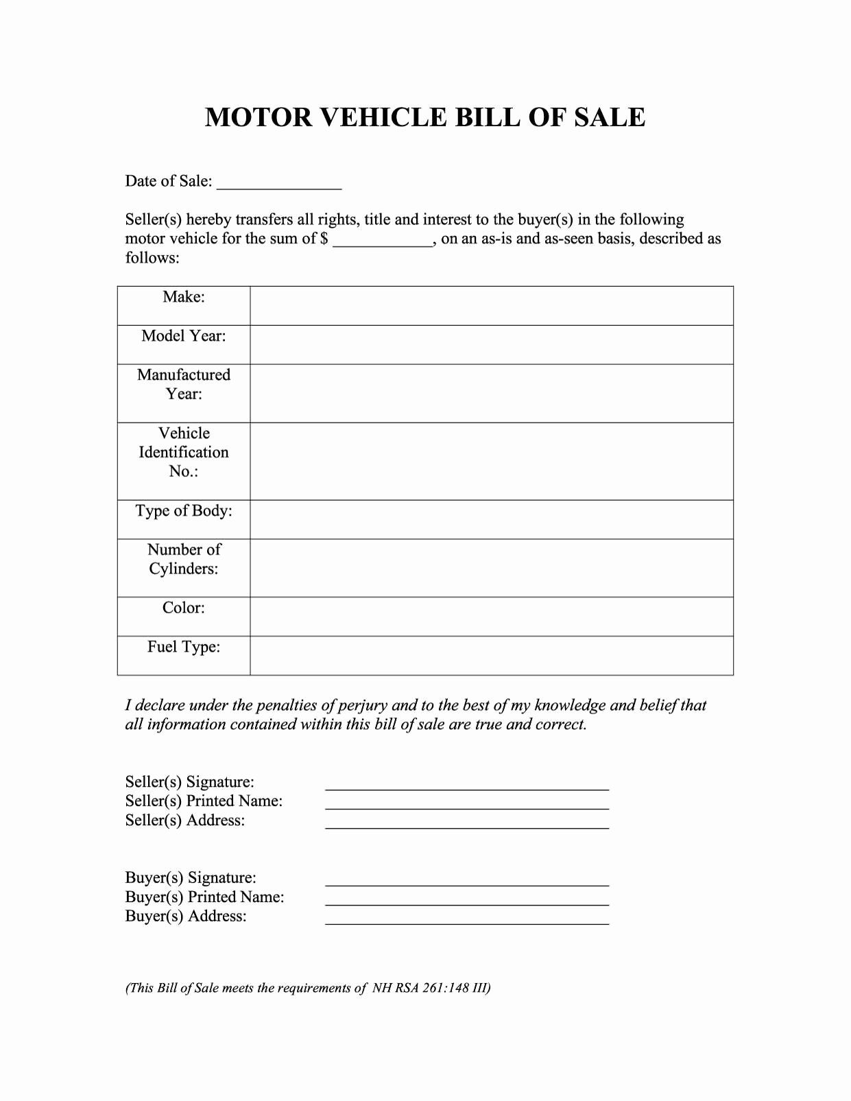 Pin On Example Document Templates Design Printable Bill of sale wording template