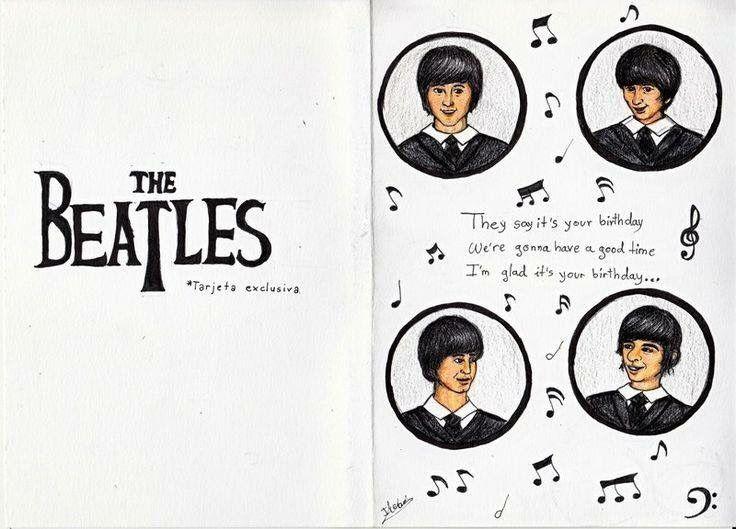 Beatleland Photo Beatles Birthday Birthday Cards Cards