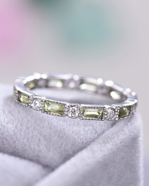 AMDXD Jewelry 925 Sterling Silver Wedding Bands Womens Oval Cut Cubic Zirconia Ring