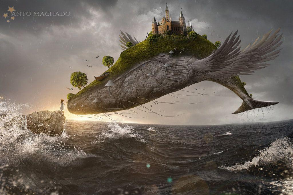 Dream Big by Antoshines on DeviantArt | Photo manipulation fantasy, Art,  Photo manipulation