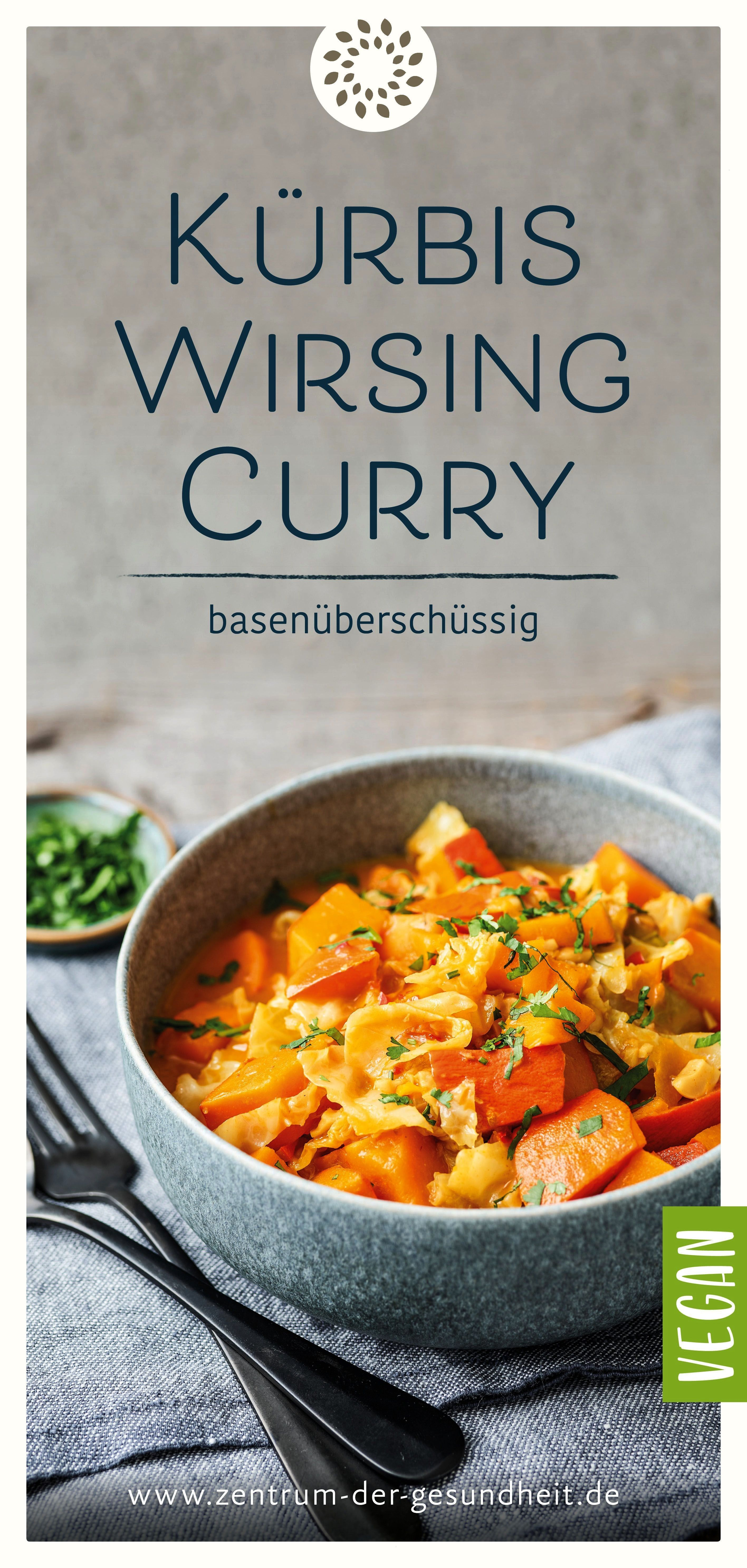 and savoy curry - excess base -  The pumpkin and savoy curry is easy to prepare and ready to serve