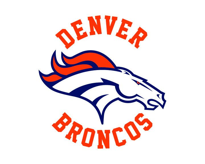 Denver Broncos Cut Files SVG