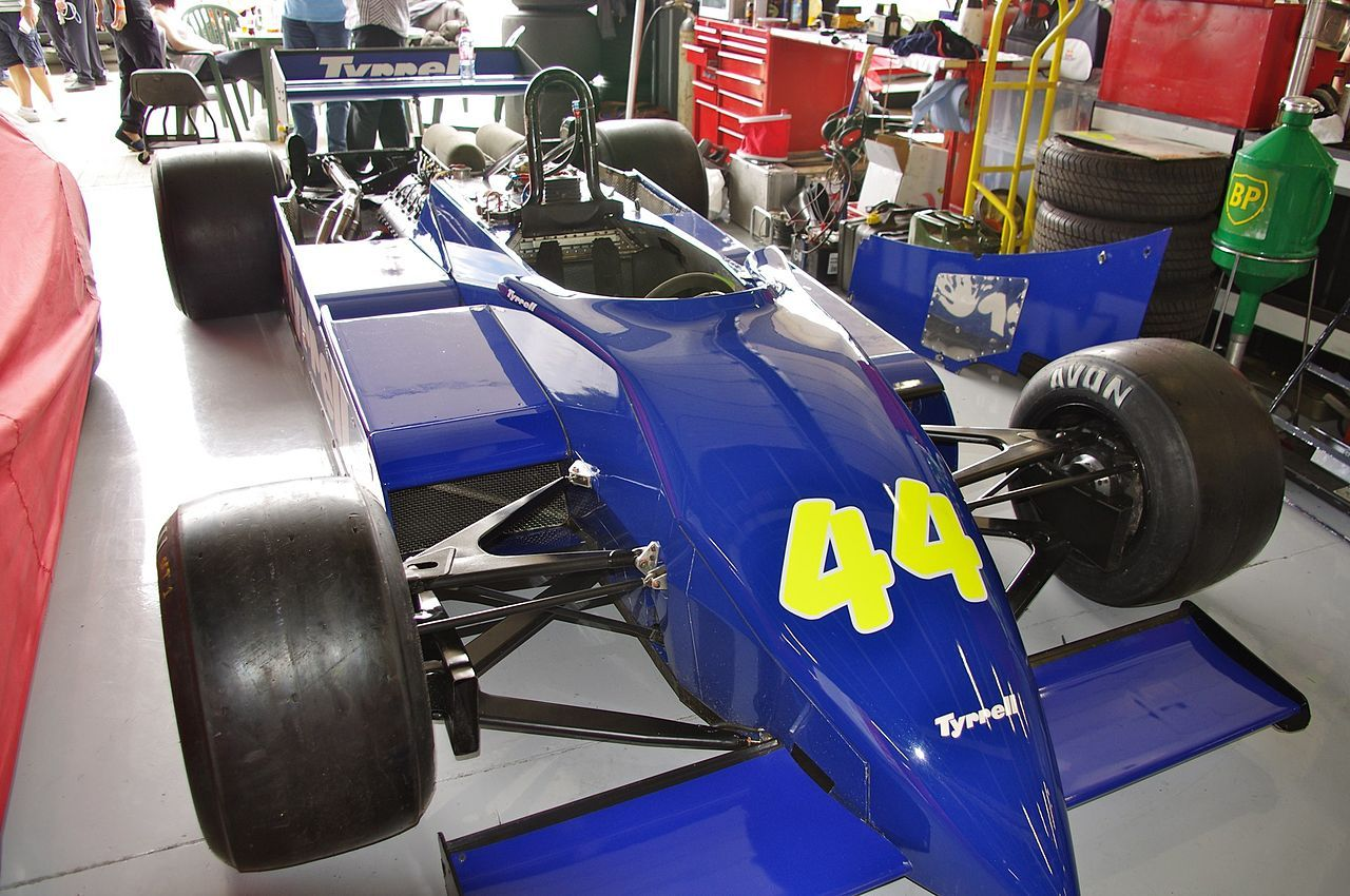 A 1982 Tyrrell 011 pictured in 2011.