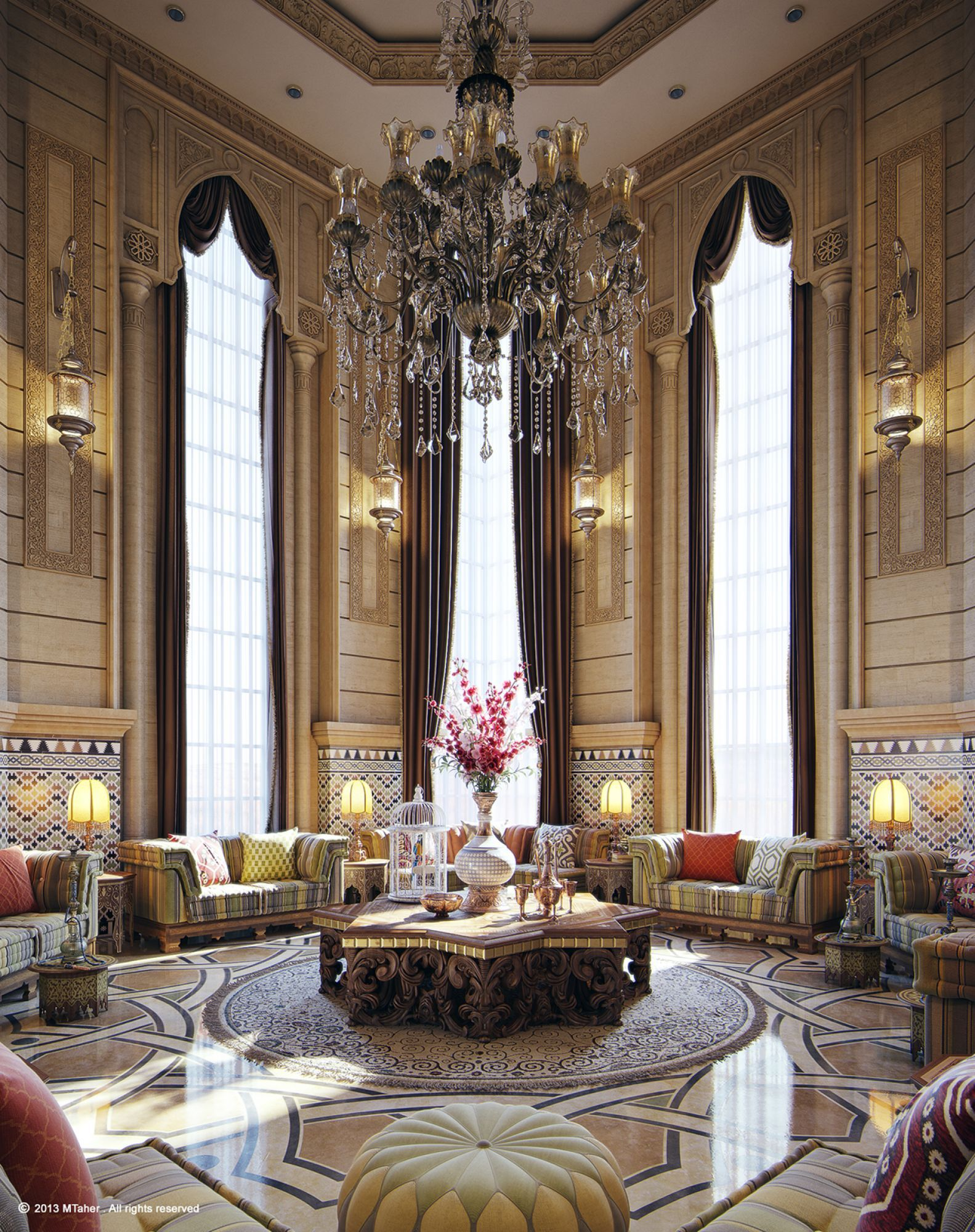 One Of My Latest Interior Work Commissioned Job Location Doha