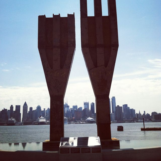 #nywaterway, #nj, #weehawken, #911, #memorial