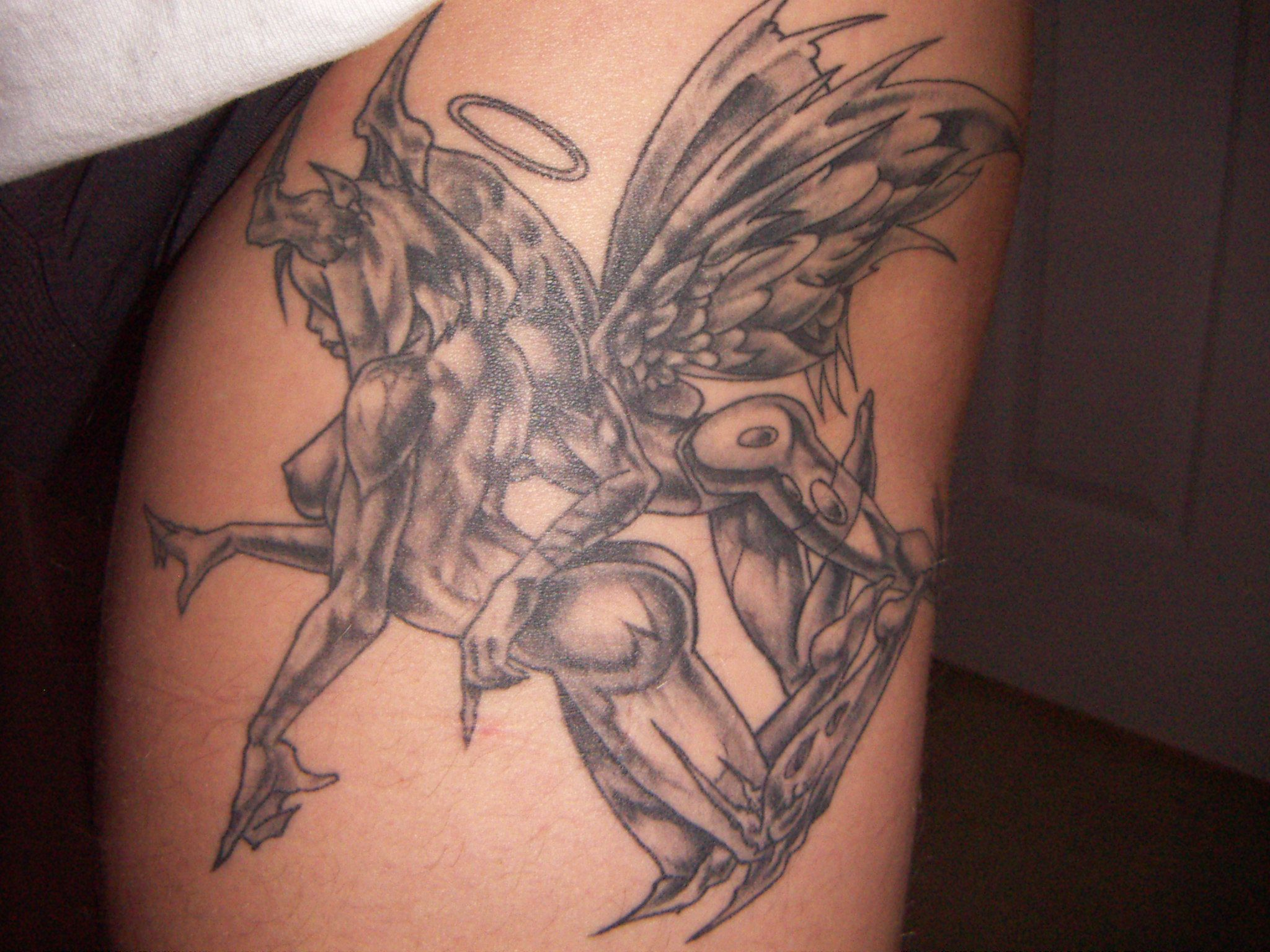 Gemini Tattoos Angel And Devil | www.pixshark.com - Images ...