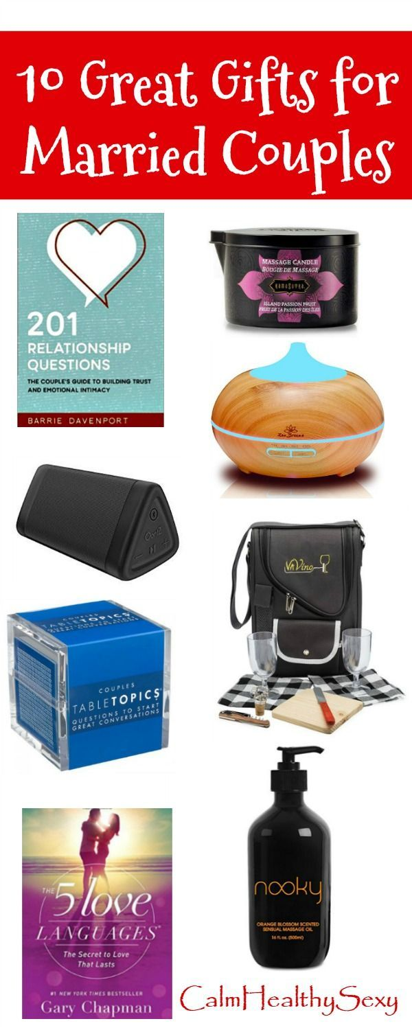 10 Great Gift Ideas for Married Couples - Fun and Romantic Gifts ...