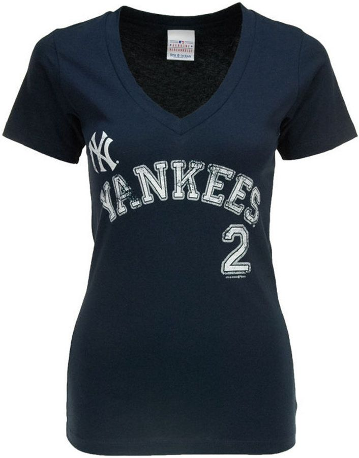 5th & Ocean Women's New York Yankees Derek Jeter Sugar Player T-Shirt #PinScheduler http://mbsy.co/tailwind/18956816