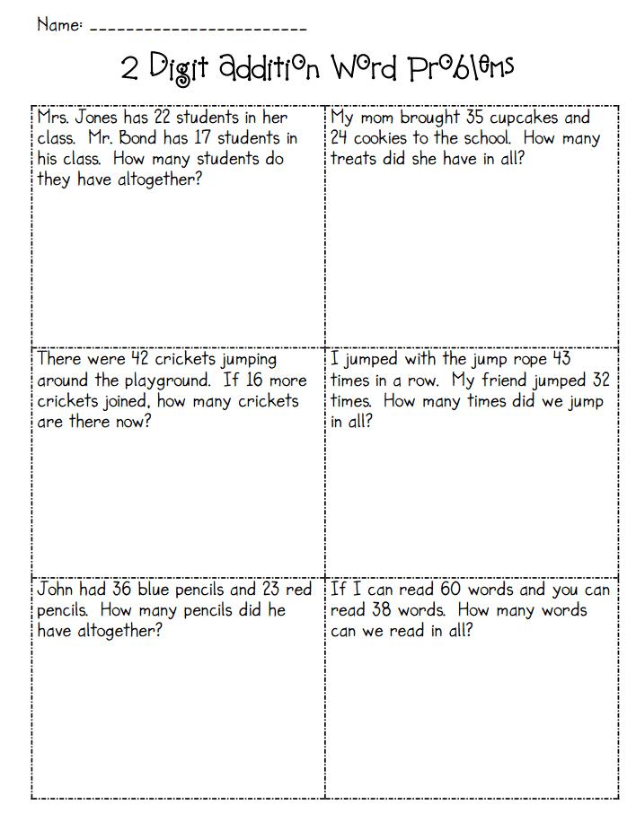 Addition Word Problems Pdf Google Drive 2nd Grade Math Worksheets Addition Words 2nd Grade Worksheets