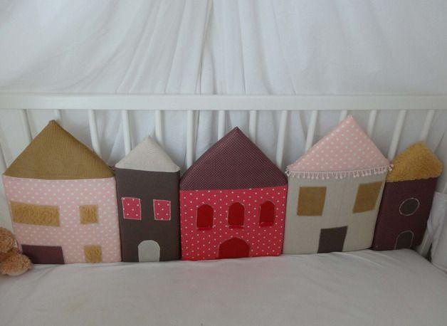 nestchen bettumrandung lalelu ein designerst ck von sommerlise bei dawanda baby. Black Bedroom Furniture Sets. Home Design Ideas