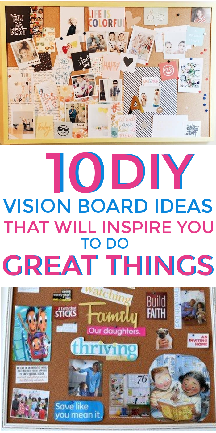 10 DIY Vision Board Ideas that Will Inspire You to do Great Things