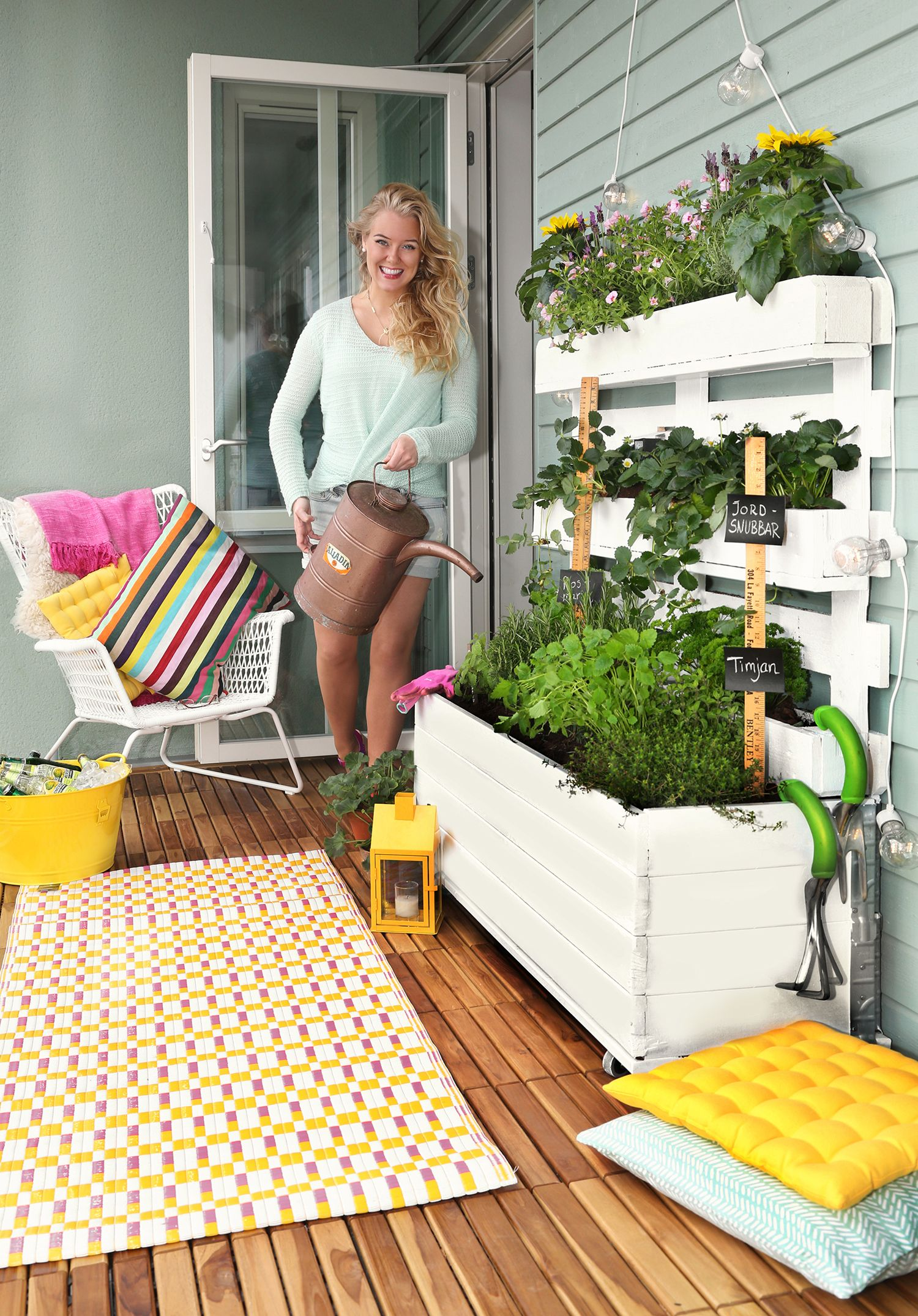 1000+ images about Claras balkonger och inredning on Pinterest ...