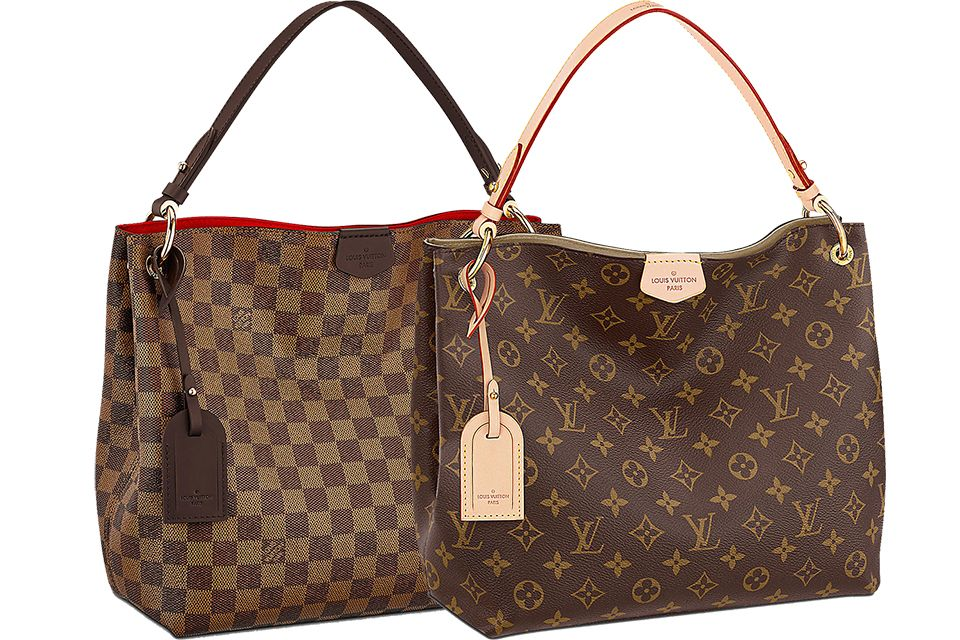 ef752a38d676 Authentic Louis Vuitton Graceful PM I just purchased this gorgeous Graceful  PM from Fashionphile...wanted to compare with my delightfu…