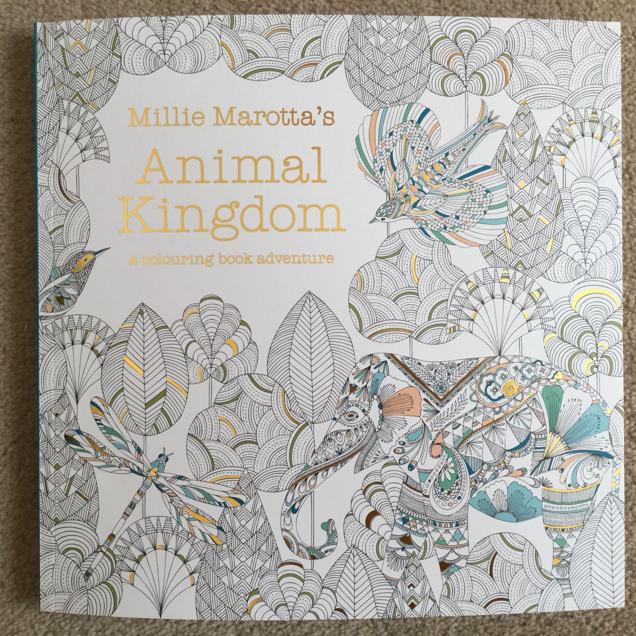 Millie Marottas Animal Kingdom A Colouring Book Adventure