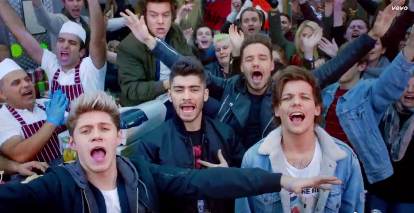 WATCH ONE DIRECTION - MIDNIGHT MEMORIES (MUSIC VIDEO) | Juncipop Blog | Midnight memories, One ...