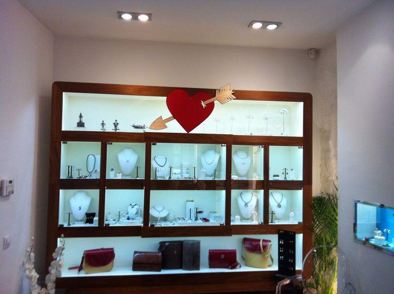 Una tienda en San Valentin.
